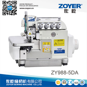 ZY988-5 Zoyer EX series 4-thread super high speed overlock sewing machine