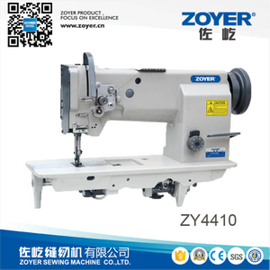 ZY4410 zoyer single needle heavy duty compound feed lockstitch