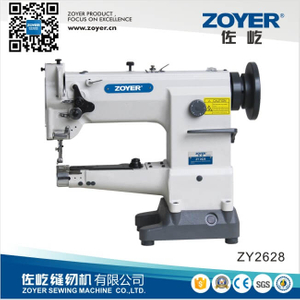 ZY2628 Zoyer Cylinder-Bed Compound-Feed Heavy Duty Big Hook Sewing Machine (ZY2628)